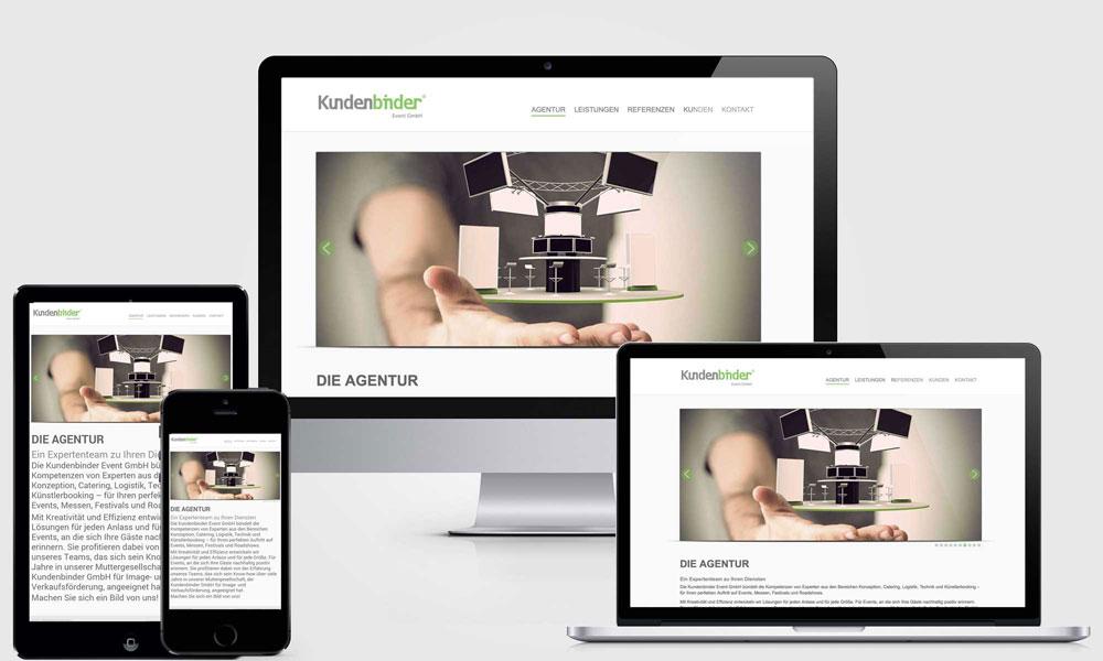 Kundenbinder_Event_GmbH_Webseite
